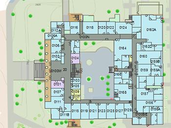 The University of Arizona Campus Maps