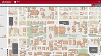 University Of Arizona Campus Map The University of Arizona Campus Maps