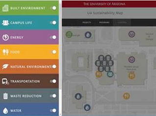 UA Sustainability Map